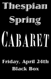 Thespian Spring Cabaret